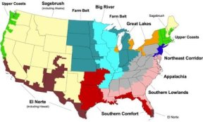 2004 Ten Regions of American Politics