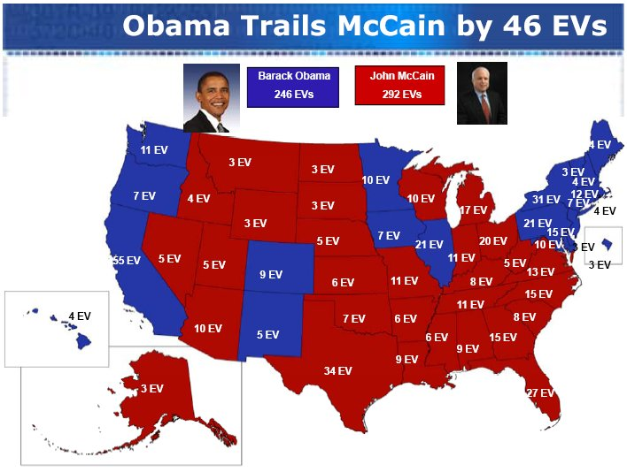 map physical states of obama mccain tahiti